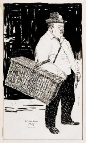 Man with a Basket