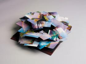 Untitled (Rainbow Spiral)