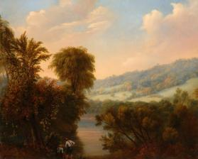 View on the Mohawk River near Schuyler, New York