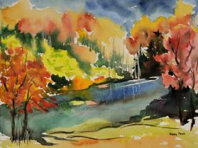 Bass Pond, Fall Blaze