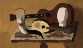 Still Life with Guitar and Banjo