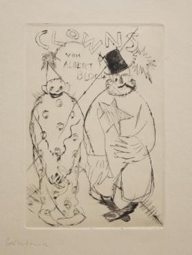 Clowns Von Albert Bloch