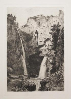 Cascades at Tivoli, Italy