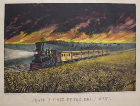 Prairie Fires of the Great West