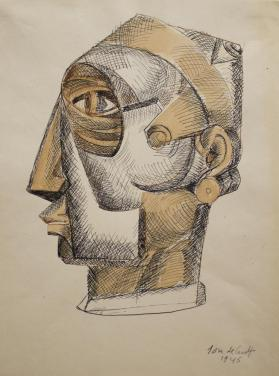 Untitled  (Constructed Head)