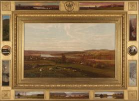 The Mohawk Valley at Canajoharie, New York
