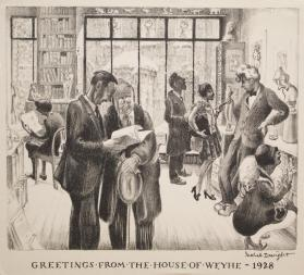 Greetings from the House of Weyhe, 1928