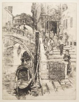 The Bridge of Sighs (No. 2), Venice