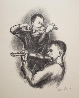 Two Violinists