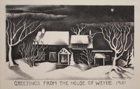 Greetings from the House of Weyhe, 1931