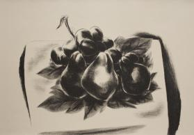 Three Pears and Grapes