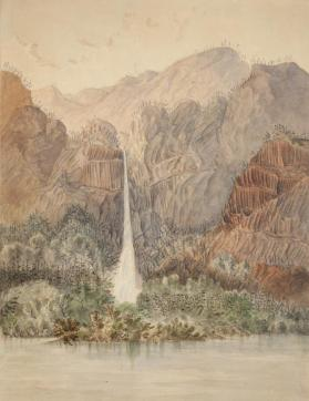 A View of Multnoman Falls, Oregon Territory