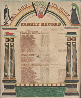 The Peckham Family Record