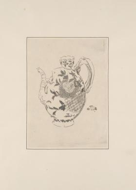 Teapot in the Form of a Pomegranate