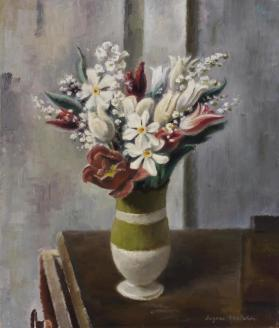 Spring Bouquet - Brown Table