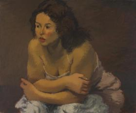 Study for 'Sentimental Girl'