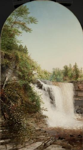 Trenton Falls: Upper High Falls from the West