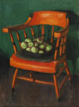 Chair with Apples