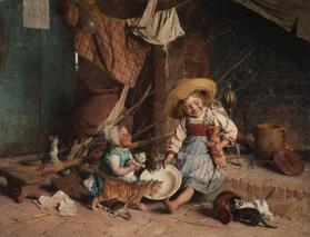 Children and Kittens