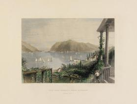 View from Ruggle's House, Newburgh (Hudson River)