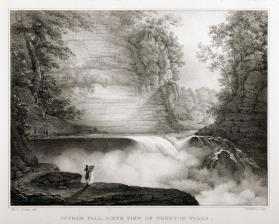Suydam Fall, Sixth View of Trenton Falls, New York