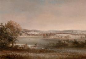 Early Winter, Hiawatha Island, Owego, New York