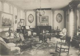 View of the Parlor at Frog Park, Waterville, New York
