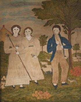 A Piper and Two Shepherdesses