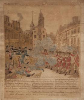 The Bloody Massacre Perpetrated in King Street, Boston on March 5th, 1770