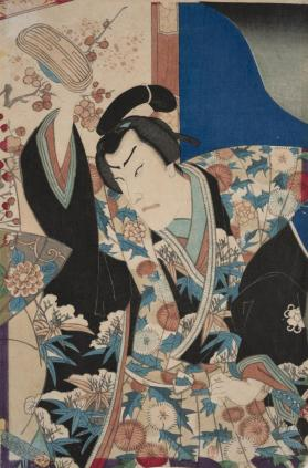 Kabuki Player (Tate-e edition; vertical format)