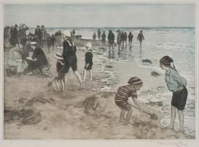 Plage (Jeux sur la Plage), [Beach (Playing at the Beach)]
