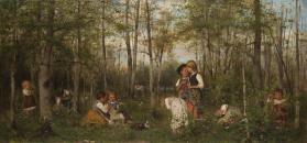 Children in a Grove