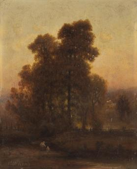 Landscape with a Large Tree