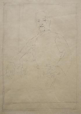 Portrait Study of an Unidentified Seated Gentleman