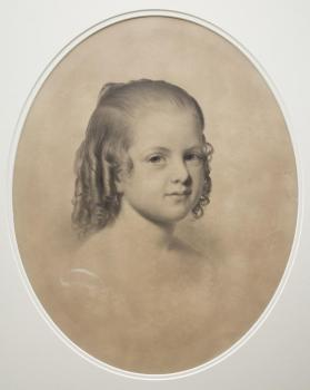 Portrait of Grace Elizabeth Williams as a Child