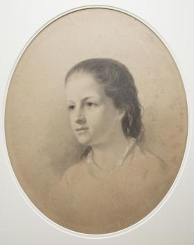 Portrait of a Young Girl, (probably Grace Elizabeth Willliams)