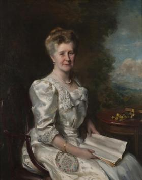 Portrait of Mrs. Thomas R. Proctor