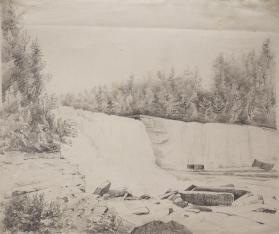 View of High Falls, Trenton, New York