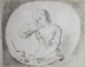 "Study for ""Peeling Onions"""