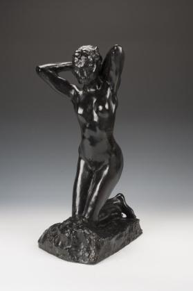 Kneeling Female Faun 1