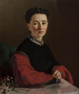 Portrait of Mrs. Frances Lezer
