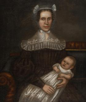 Portrait of a Lady and Child