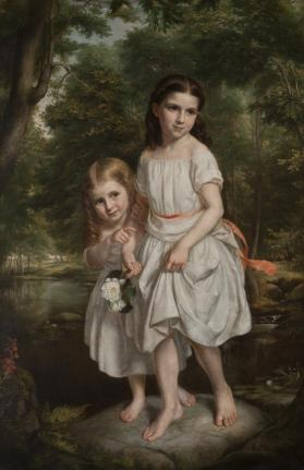 Portrait of Rachel Munson Williams and Maria Watson Williams as Young Girls