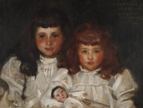 Portrait of Lily May Hyland and Her Sister