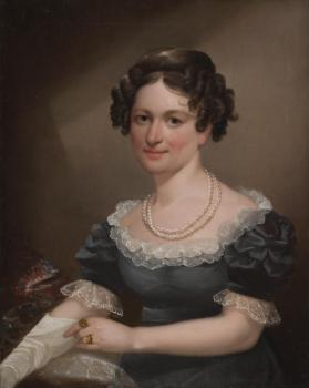 Portrait of Miss Frances Dusenbury