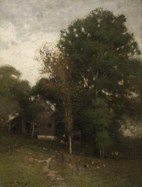 A House Beneath the Trees