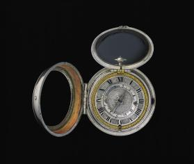 Pair-case Watch with Alarm