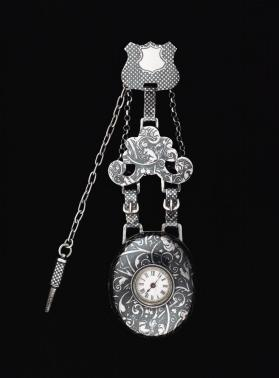 Locket with Watch and Chatelaine