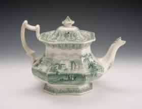 """American Cities and Scenery: Utica"" Teapot"
