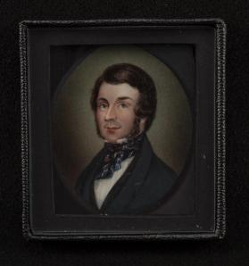Portrait of a Gentleman with a Blue Cravat